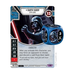 Darth Vader - Sith Lord (Sold with matching Die)
