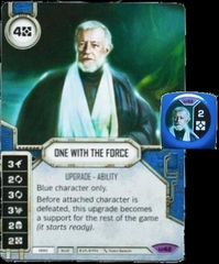 One With the Force (Sold with matching Die)