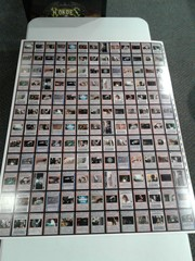 Star Wars BB Limited Light Side Rare Uncut Sheet