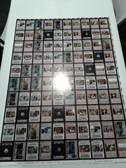 Star Wars Endor Light Side Uncommon Uncut Sheet