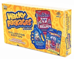 Wacky Packages: Collector Edition: 2014 Series: Booster Box: 2014 Edition