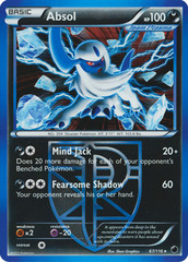 Absol - 67/116 - Non-Holo Moltres Legendary Battle Deck Exclusive
