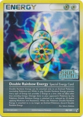 Double Rainbow Energy - 88/100 - Rare - Reverse Holo