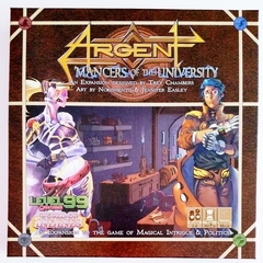 Argent: 'Mancers of the University
