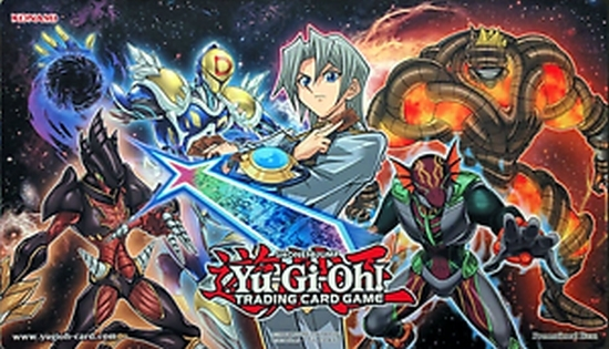 yugioh hero strike elite playmat