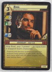 Baal Charming Villain - 1R6  - Rare