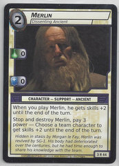 Merlin Dissenting Ancient - 3R44 - Rare