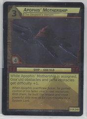Apophis Mothership Serpent Venom (Foil) - 3Ur240 - Ultra Rare