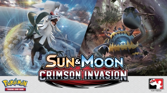 Pokemon Sun and Moon Crimson Invasion Booster Pack New and Sealed!