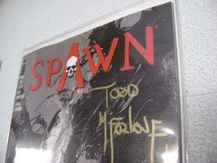 Spawn #283 Signed Todd McFarlane B&W Variant Retailer Exclusive Image EXPO 5.5 F- Tear