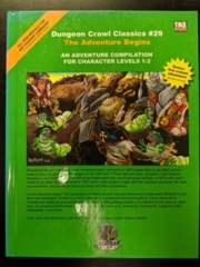 Dungeon Crawl Classics #29: The Adventure Begins