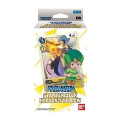 Heaven's Yellow: ST-3: Starter Deck: Limit 1 per person (Pre-Order Only)($9.00Cash/$10.00 In-Store Credit)(11/27/2020)