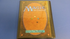 MTG Magic Card Back 9 Pocket Binder