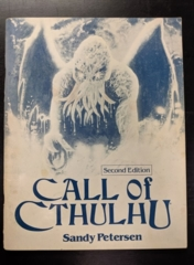 Call of Cthulhu: Second Edition Softcover Rulebook