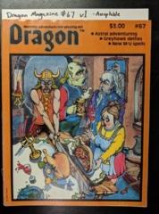 Dragon Magazine #67 v1