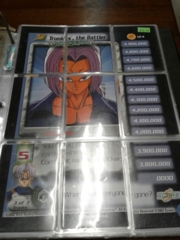 DBZ Trunks, the Battler 9 Card Puzzle Set