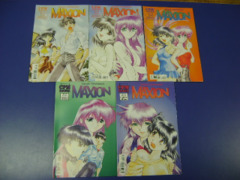 COMIC MANGA Maxion Lot of 5 #3,4,6,7 CPM Takeshi Takebayashi VG/FINE