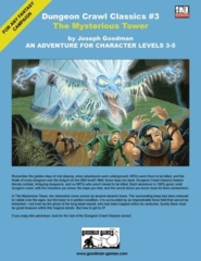 Dungeon Crawl Classics #3: The Mysterious Tower