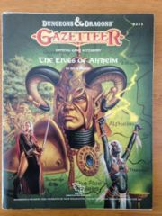 Gazetteer: The Elves of Alfheim (Variant 1)