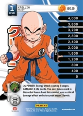 Krillin 1-4 Premeir Personality Stack High Tech Foil