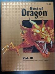 Best of Dragon Magazine Vol. III