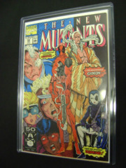 New Mutants #98 6.5 F+/VF- 1st Deadpool Domino Gideon Rob Liefeld GREAT PICS!