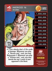Android 16, Injured - U72 - Foil