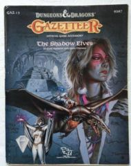 Gazetteer: The Shadow Elves