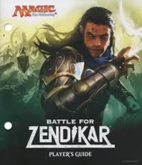 MTG Battle for Zendikar Fat Pack Player's Guide Only (USED)