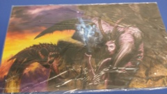 Playmat AOM Jim Pavelec Servant of the Demoness