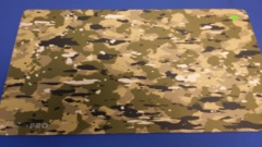 Playmat Camouflage Green