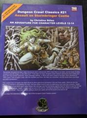 Dungeon Crawl Classics #21: Assault on Stormbringer Castle