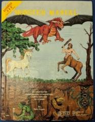 Monster Manual (Variant 3) 6th Printing 1981