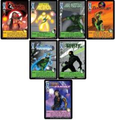 Sentinels VILLIANS of the Multiverse: Character Promo Pack(Set of 7)(Chrono-Ranger)