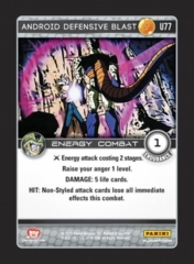 Android Defensive Blast - U77 - Foil