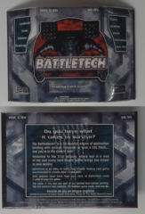 Starter Deck: Limited First Edition Printin: WOC 6301: Battletech