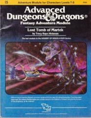 Fantasy Adventure Module: Lost Tomb of Martek I5 9054