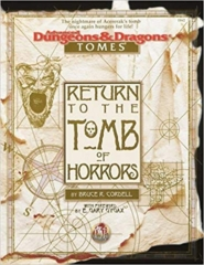 Return to the Tomb of Horrors: Box Set 1162 SW Shrink Wrapped