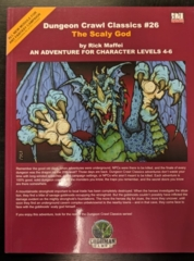 Dungeon Crawl Classics #26: The Scaly God