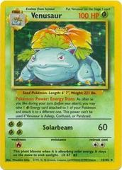 Venusaur - 15/102 - Holo Rare - Unlimited Edition