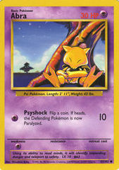 Abra - 43/102 - Common - Unlimited Edition