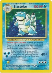 Blastoise - 2/102 - Holo Rare - Unlimited Edition