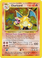 Charizard - 4/102 - Holo Rare - Unlimited Edition