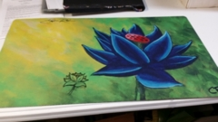Playmat MTG Black Lotus Christopher Rush Altered