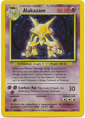 Alakazam - 1/102 - Holo Rare - Unlimited Edition