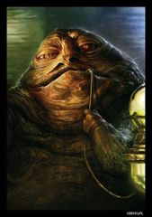 SW Jabba the Hutt: Deck Protectors: 50 Count:Fantasy Flight: SWS18