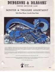 Monster & Treasure Assortment: Sets One-Three