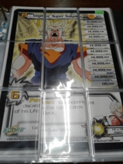 DBZ Vegito, Super Saiyan 9 Card Puzzle Set
