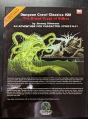 Dungeon Crawl Classics #25: The Dread Crypt of Srihoz