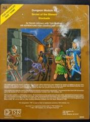 Dungeon Module A2: Secret of the Slavers Stockade: Damaged